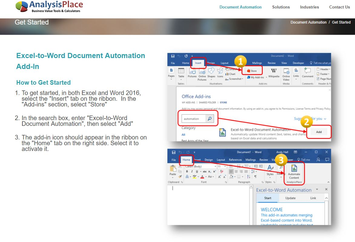 Excel-to-Word Document Automation Reviews 2019: Details