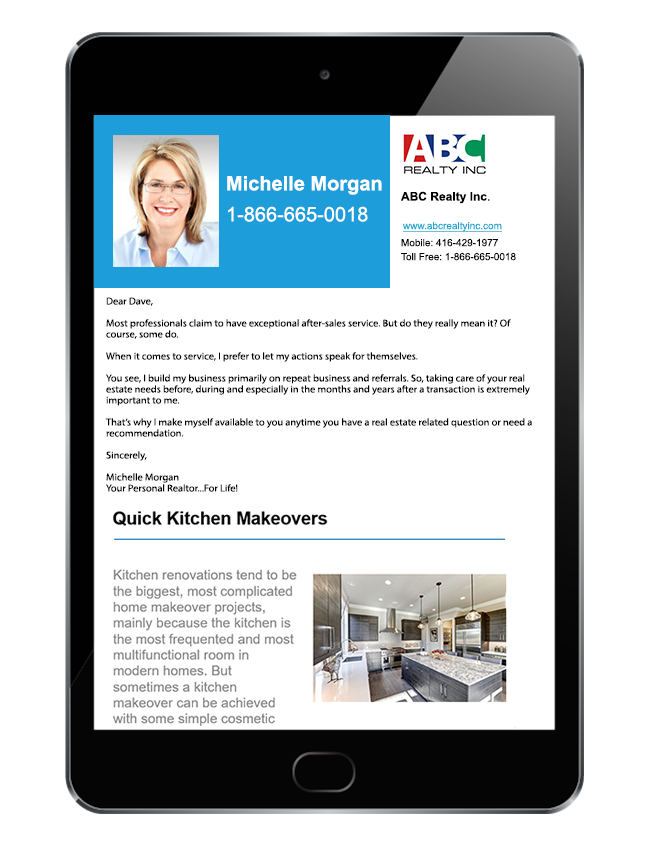 IXACT Contact Real Estate CRM Demo - IXACT Contact Monthly e-Newsletter