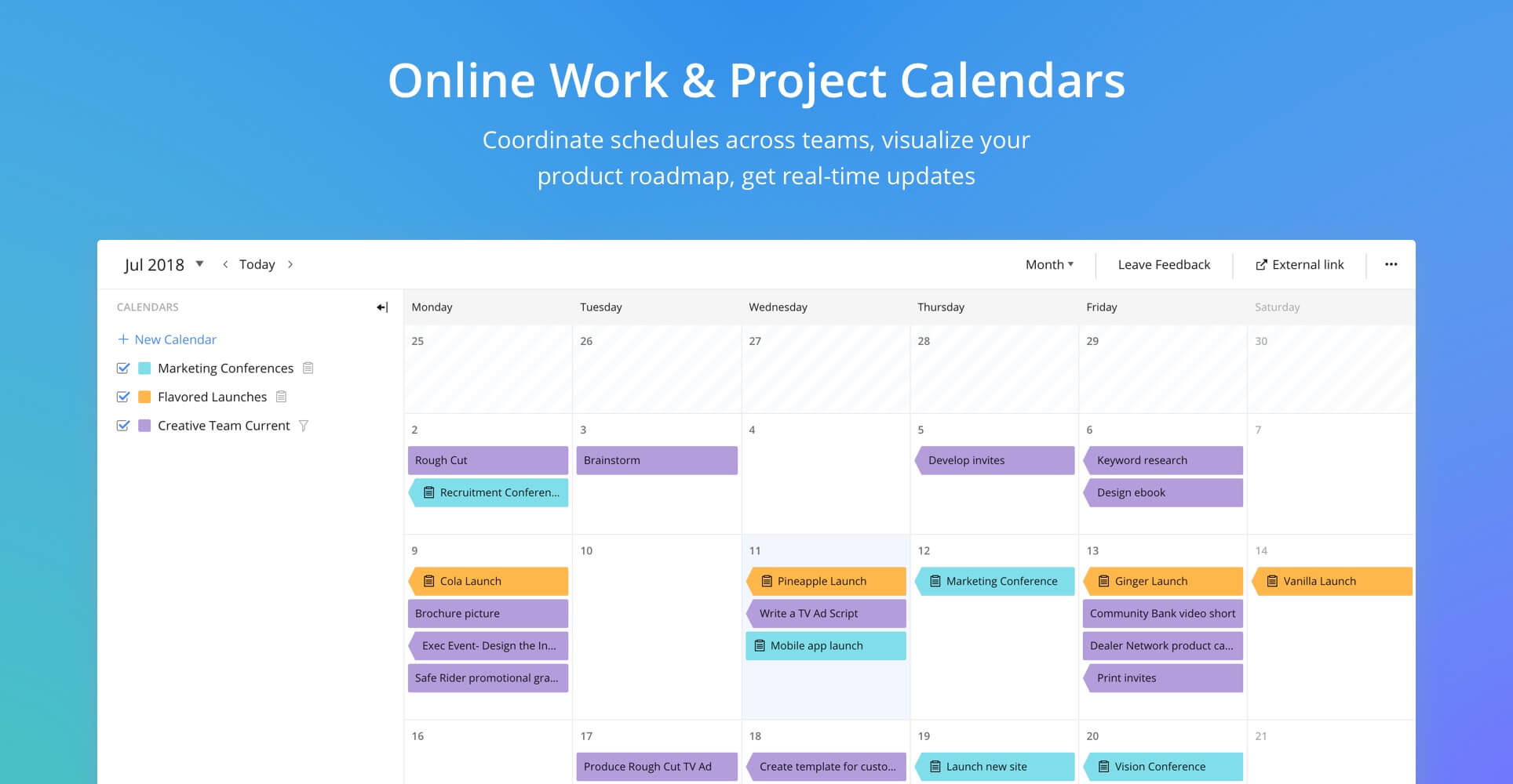 Wrike Demo - Online Work & Project Calendars