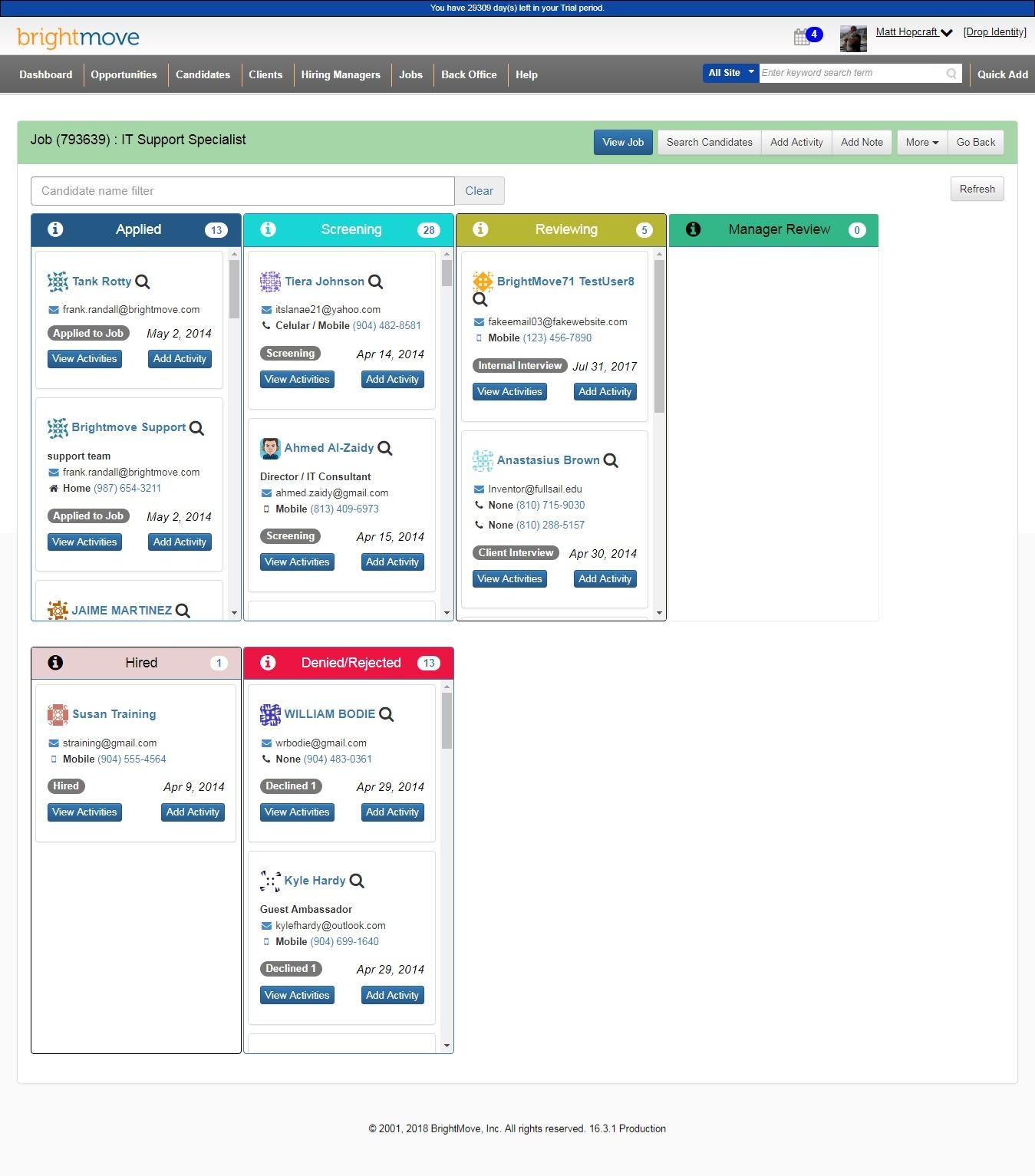BrightMove Staffing Demo - BrightMove Jobs