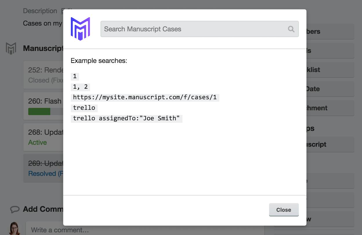 FogBugz Demo - Search Feature