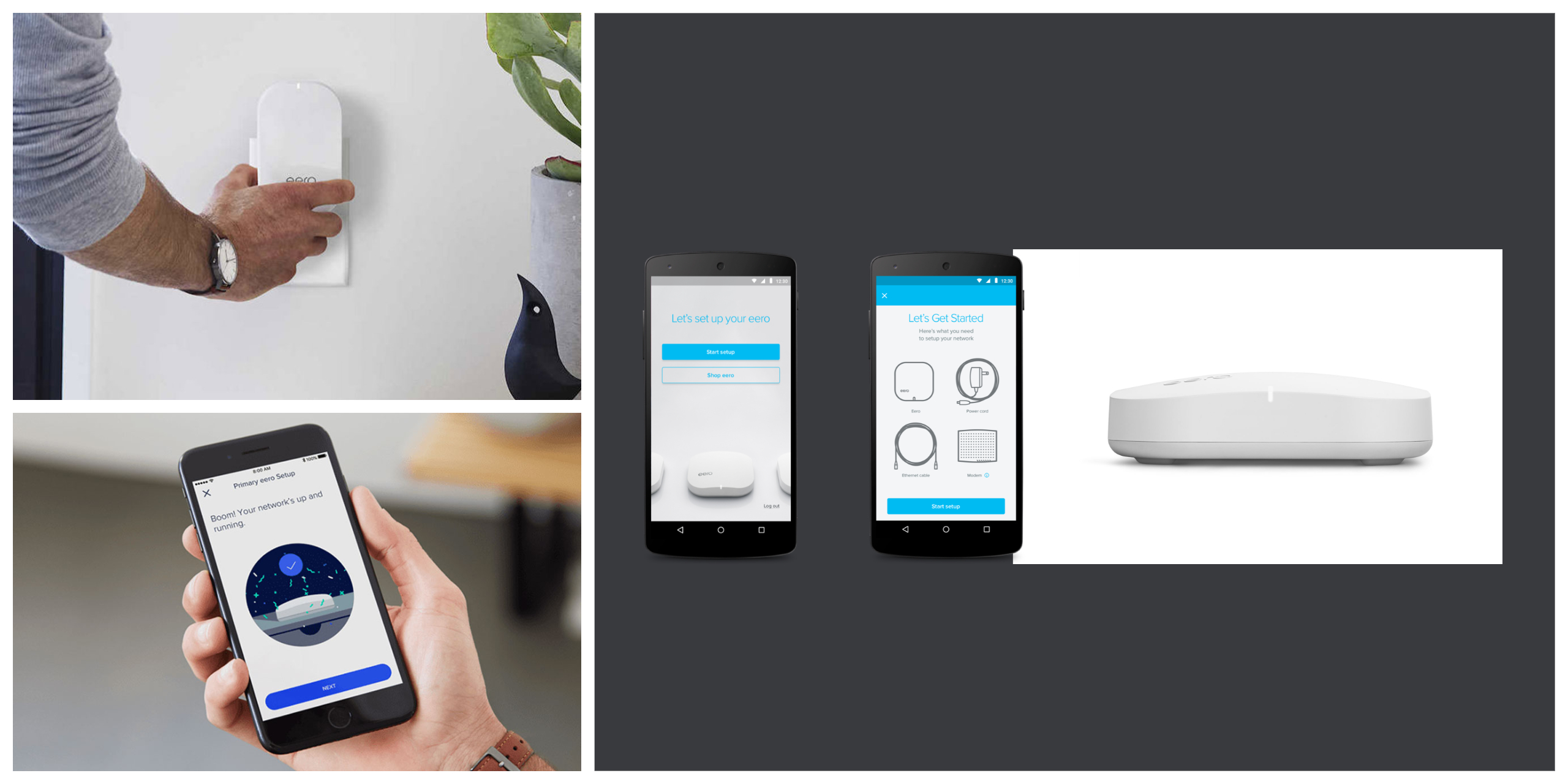 Mutual Mobile Demo - eero Home WiFi | iOS & Android App