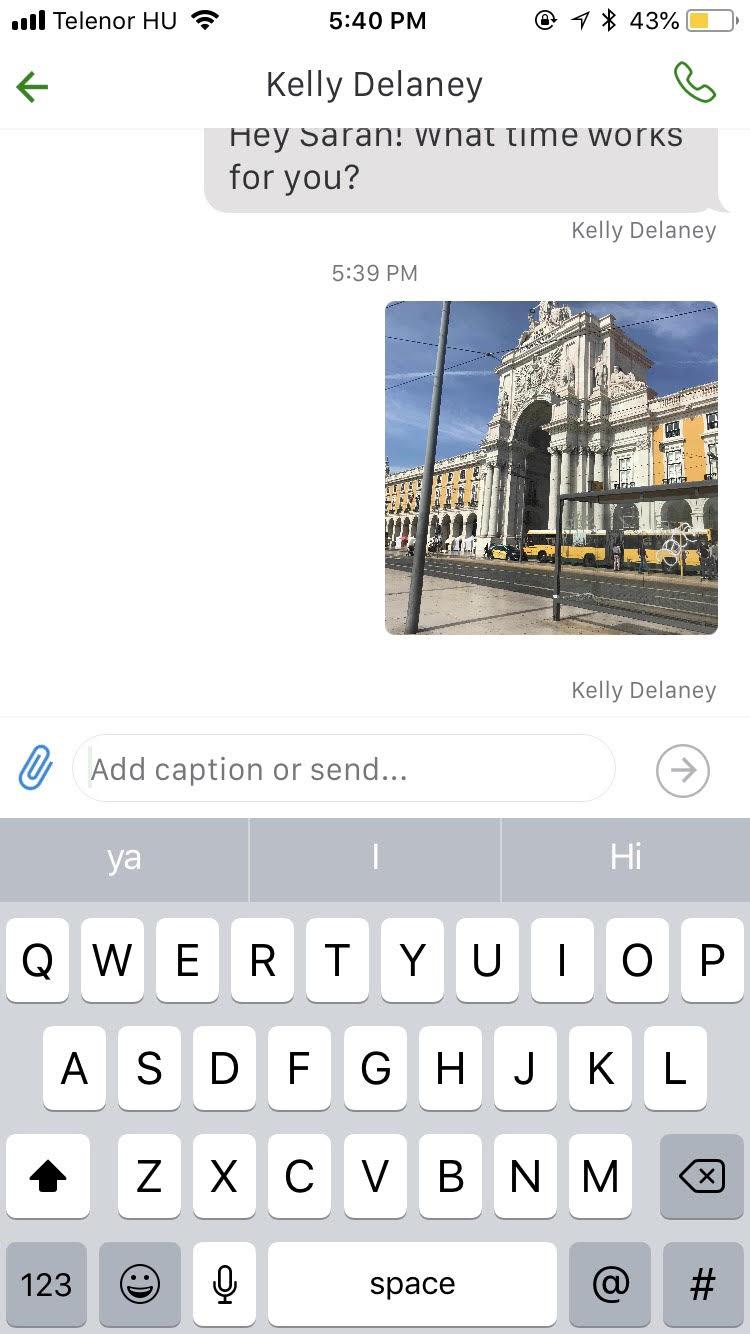 Grasshopper Demo - Texting