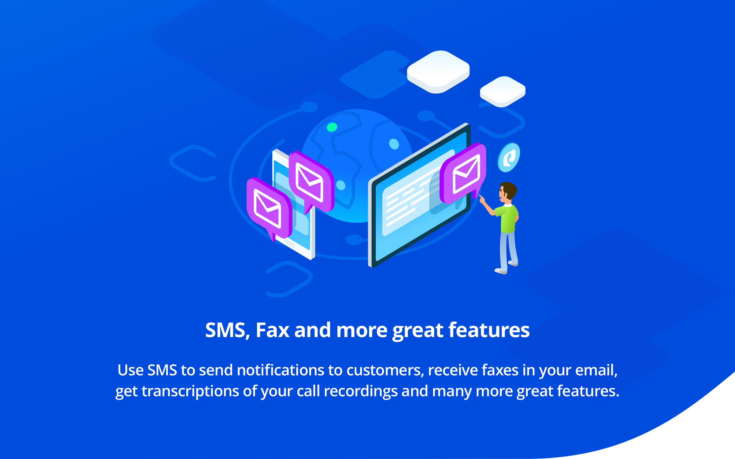 Toky Demo - SMS, Fax and more great features