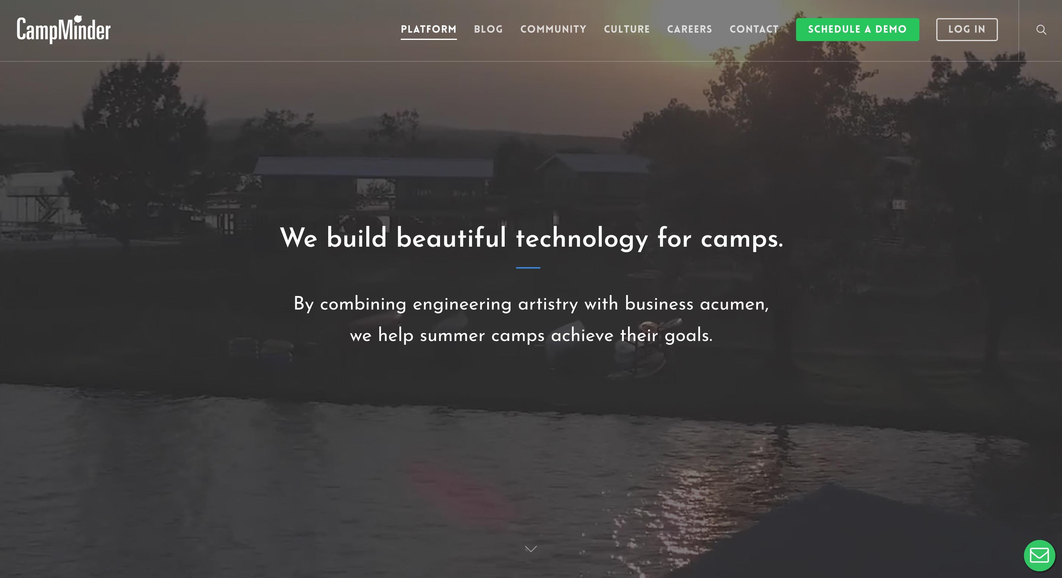 CampMinder Demo - CampMinder Home Page