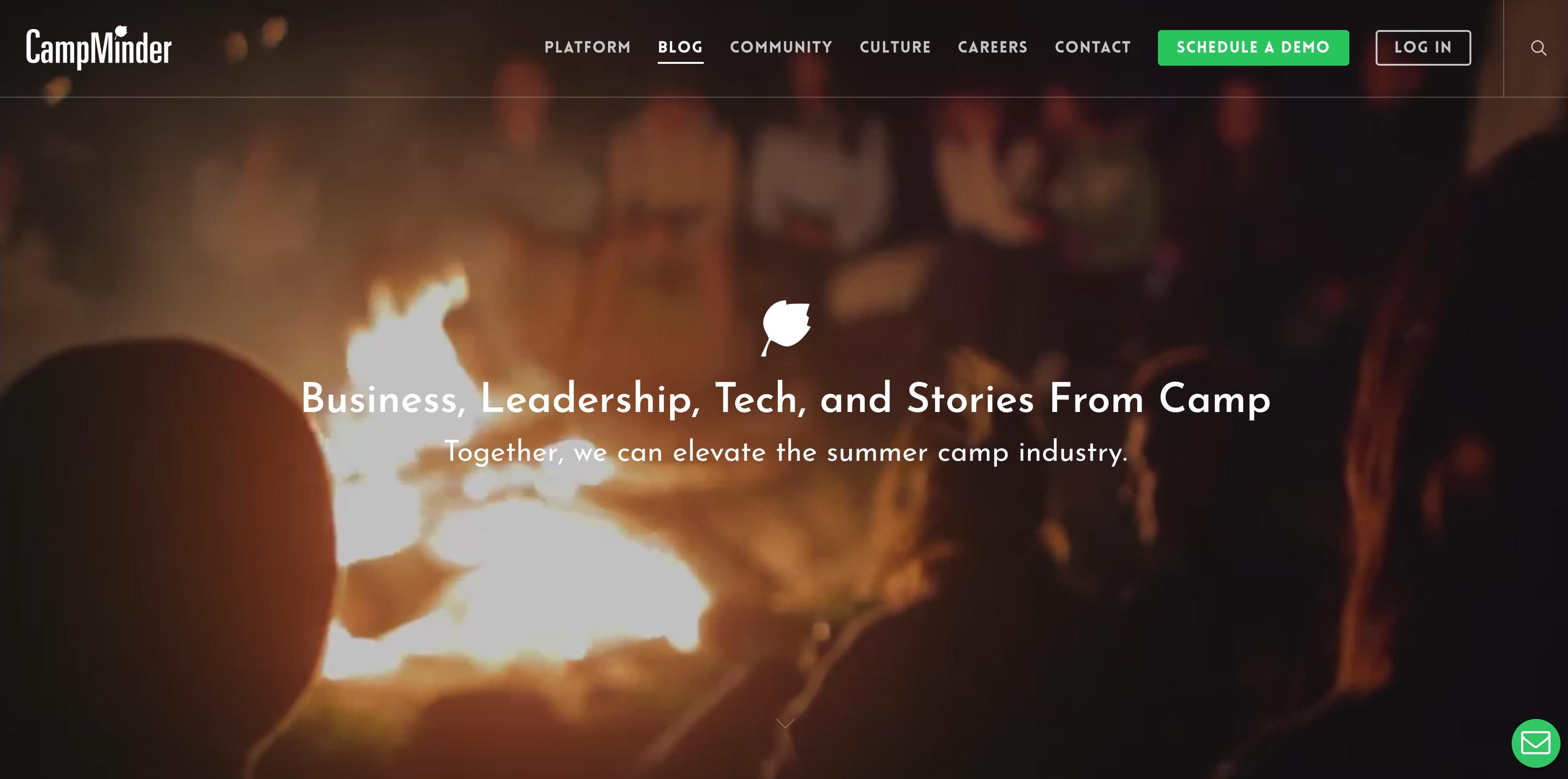 CampMinder Demo - Welcome to the CampMinder Summer Camp Blog