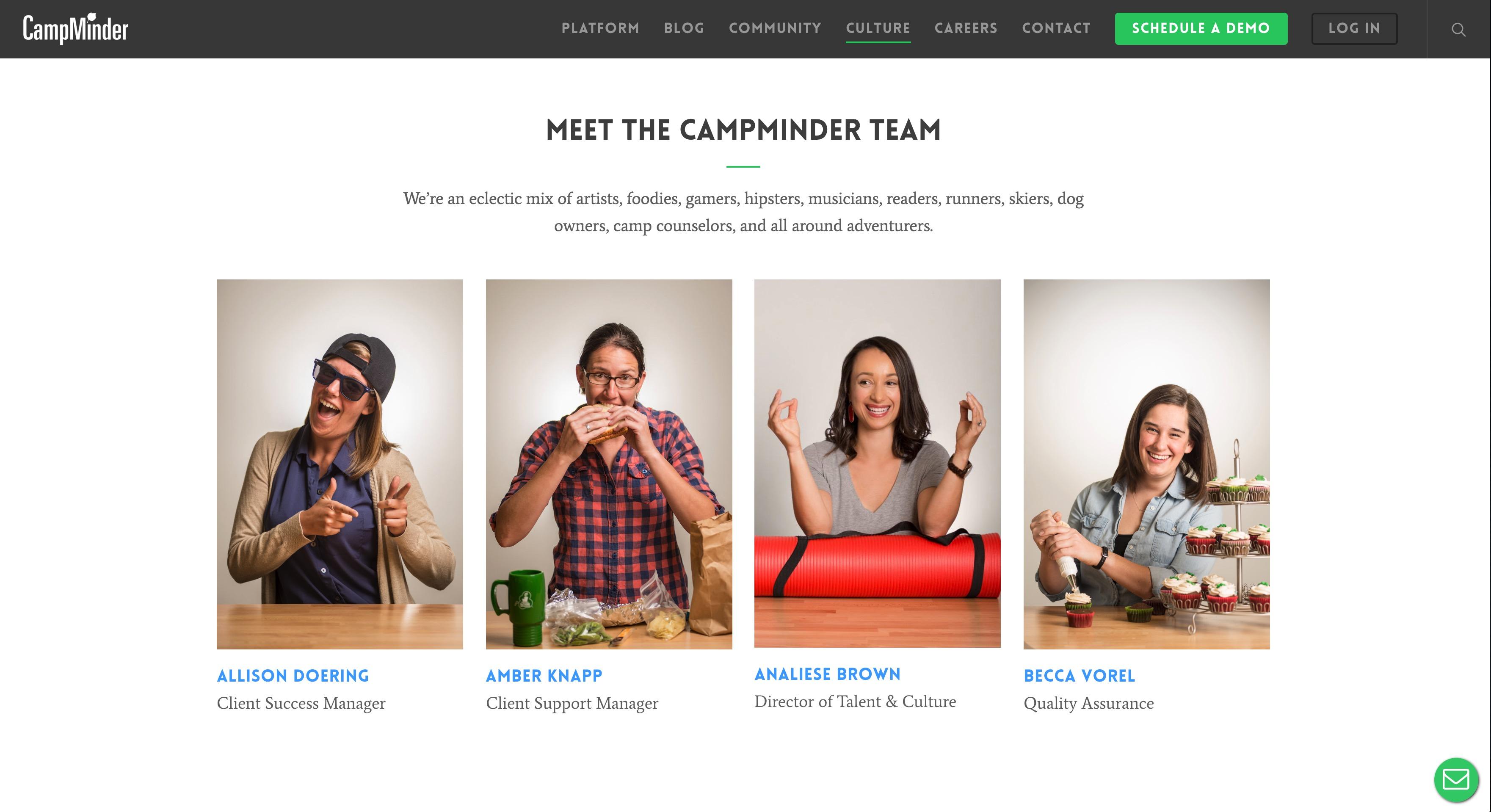 CampMinder Demo - CampMinder Culture