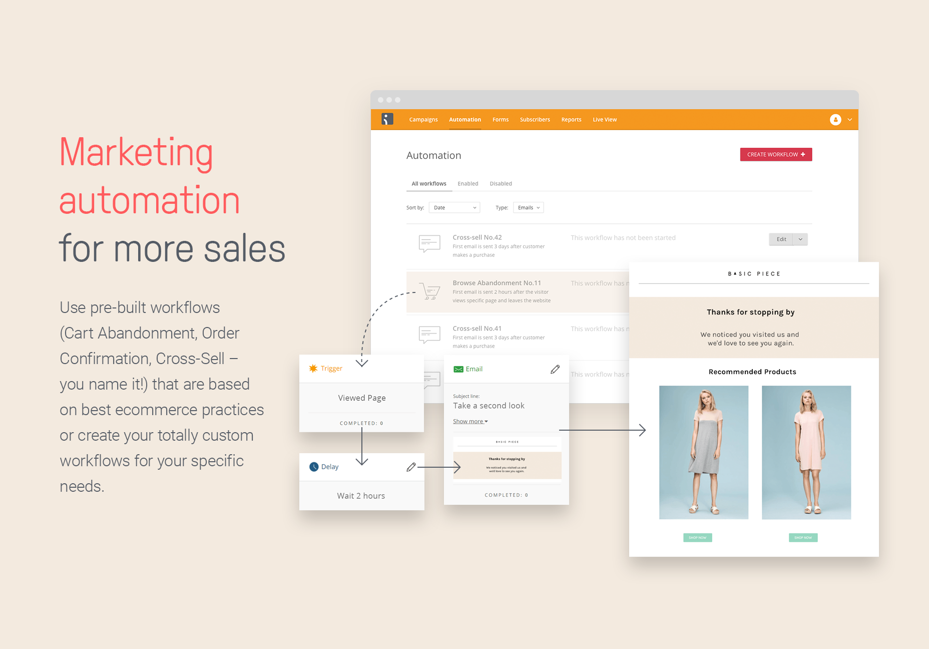 Omnisend Demo - Marketing automation for more sales