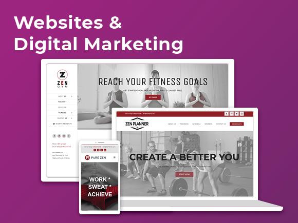 Zen Planner Demo - Integrated Websites and Digital Marketing Services