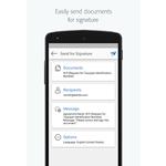 Adobe Sign Mobile Apps Screenshot