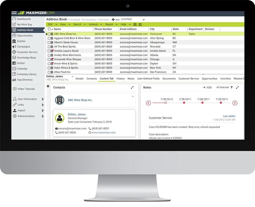 Maximizer CRM Demo - address-book-screen.jpg
