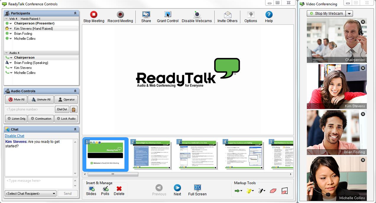 ReadyTalk Demo - ReadyTalk Video Conferencing