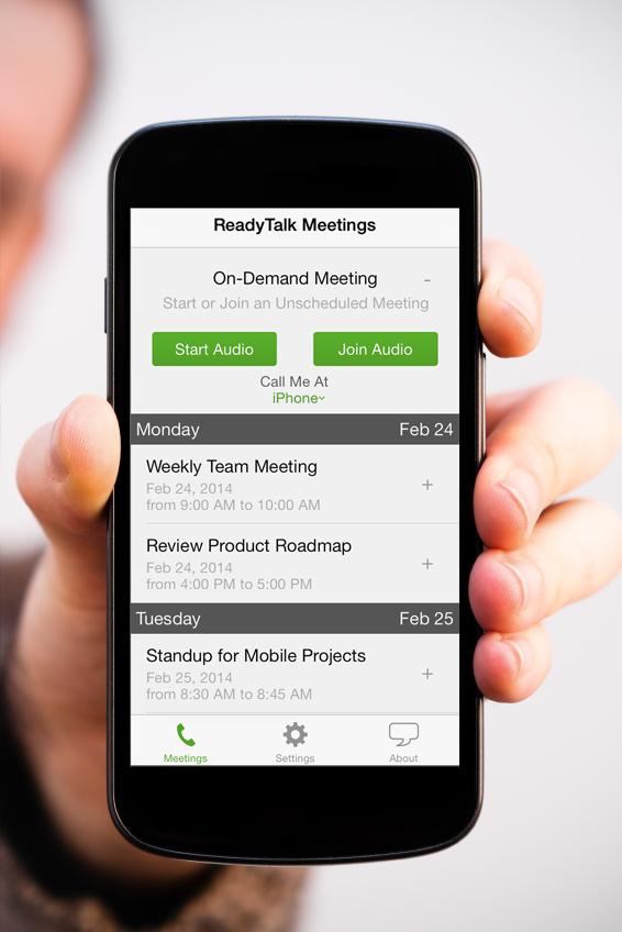 ReadyTalk Demo - ReadyTalk mobile app