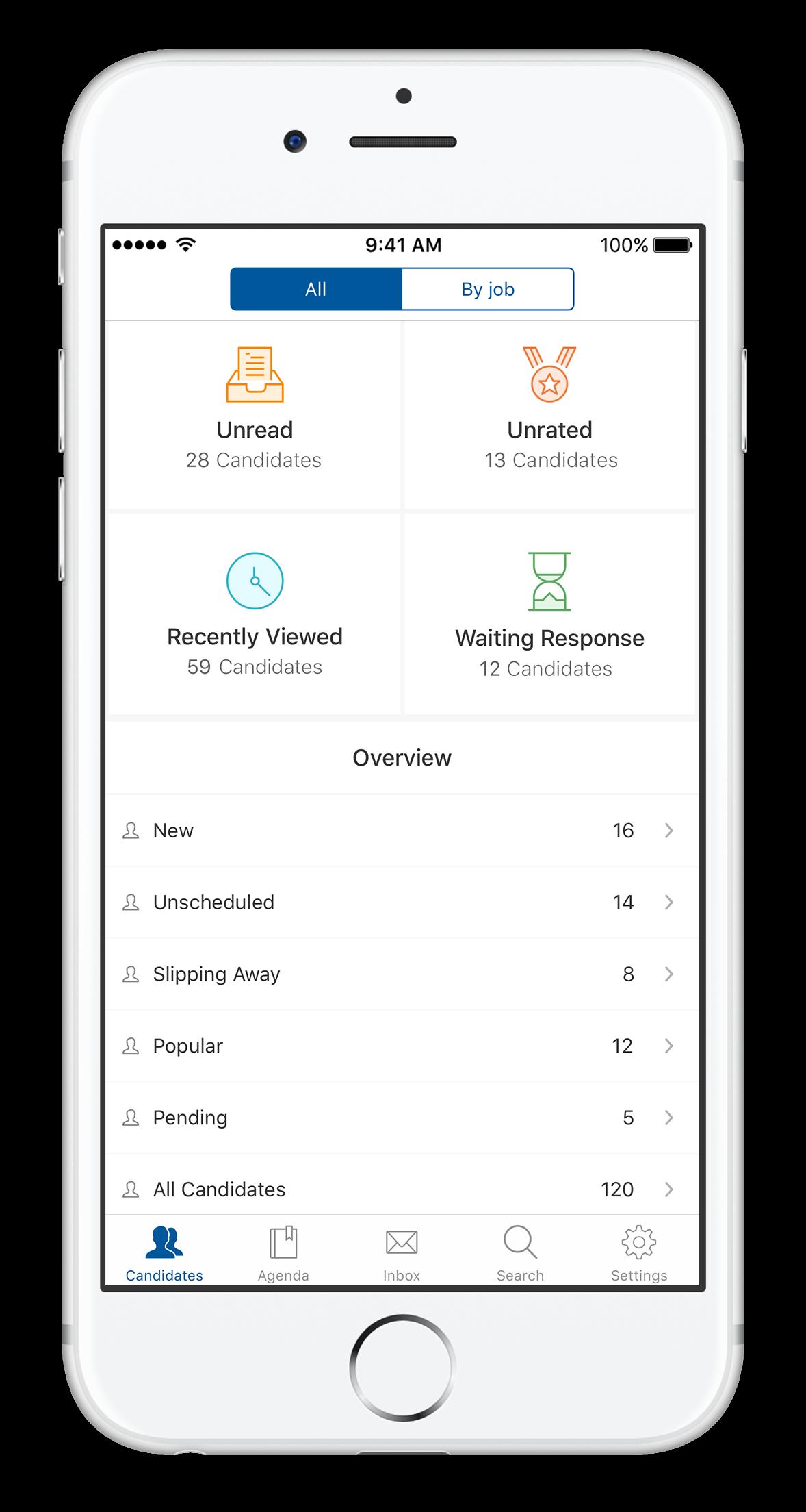 Workable Demo - iOS app