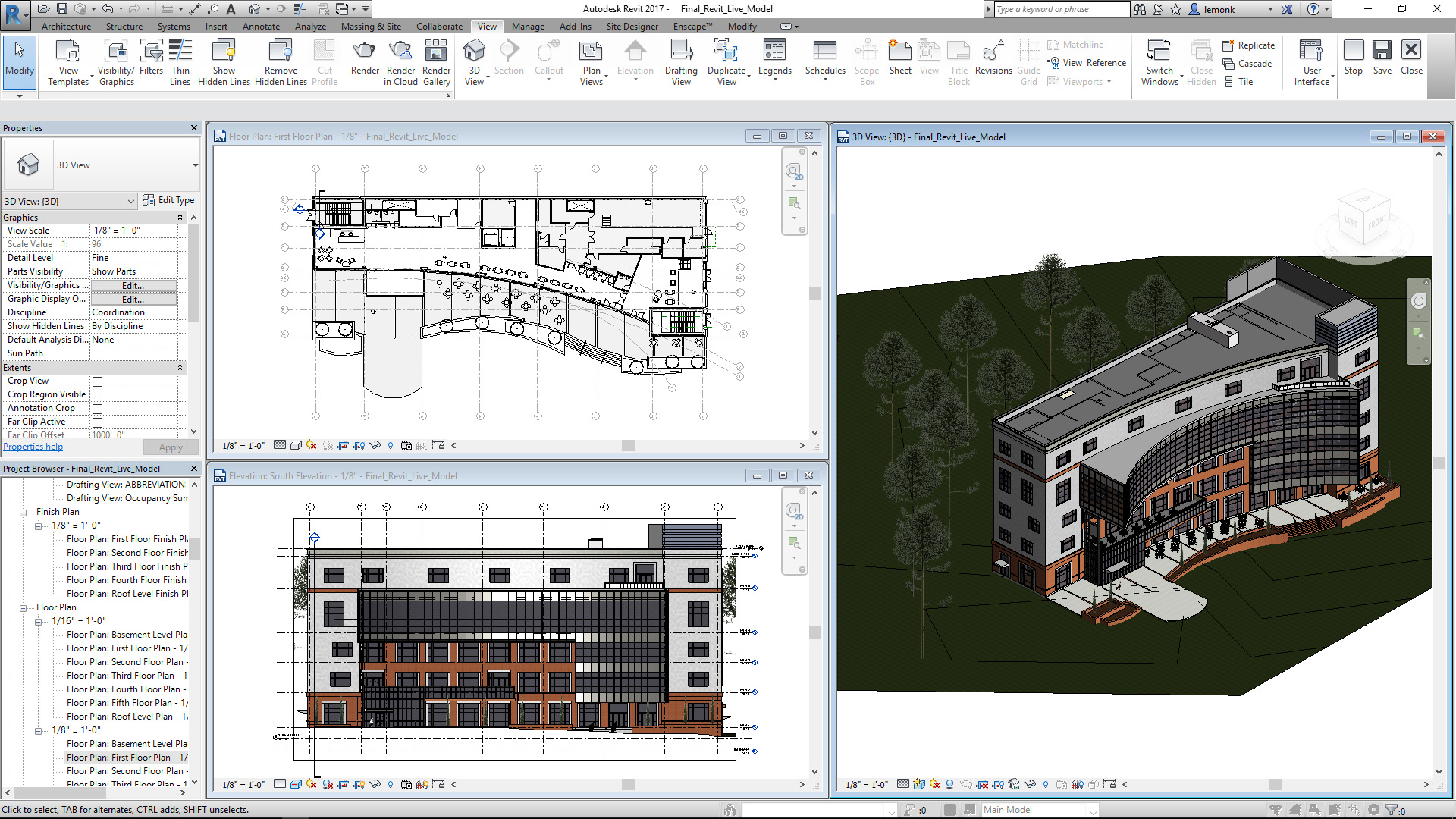 Revit Demo - Bond