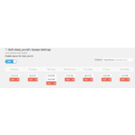 Sked Social Demo - Customisable Posting Schedules