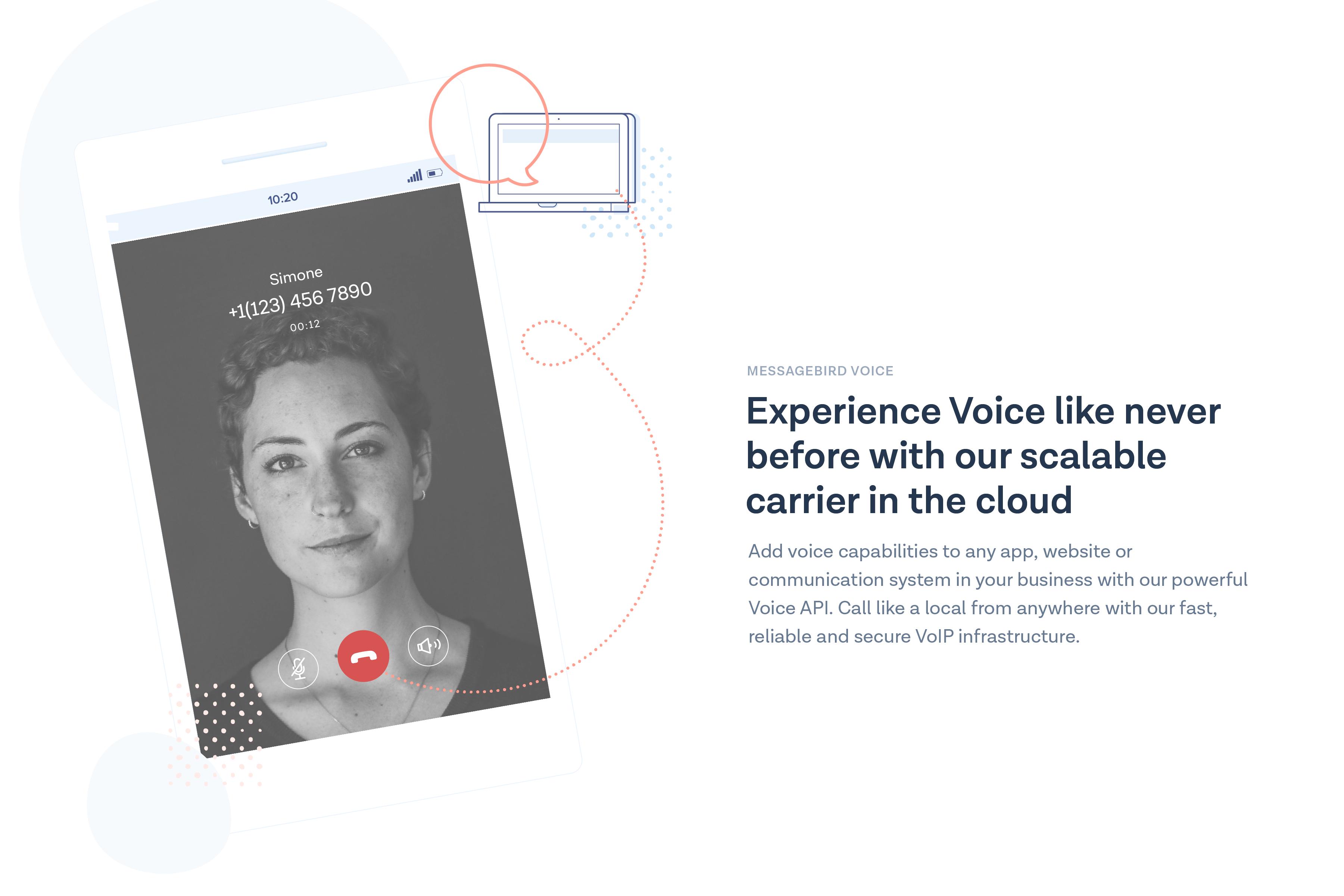 MessageBird Demo - MessageBird Voice API