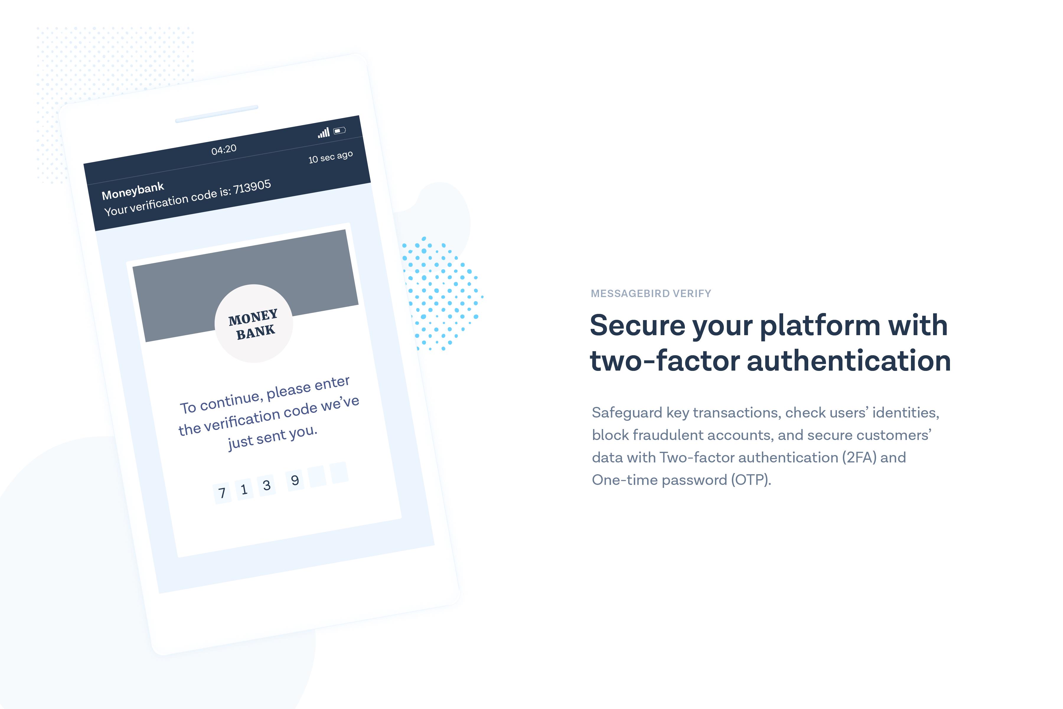 MessageBird Demo - MessageBird Verify API