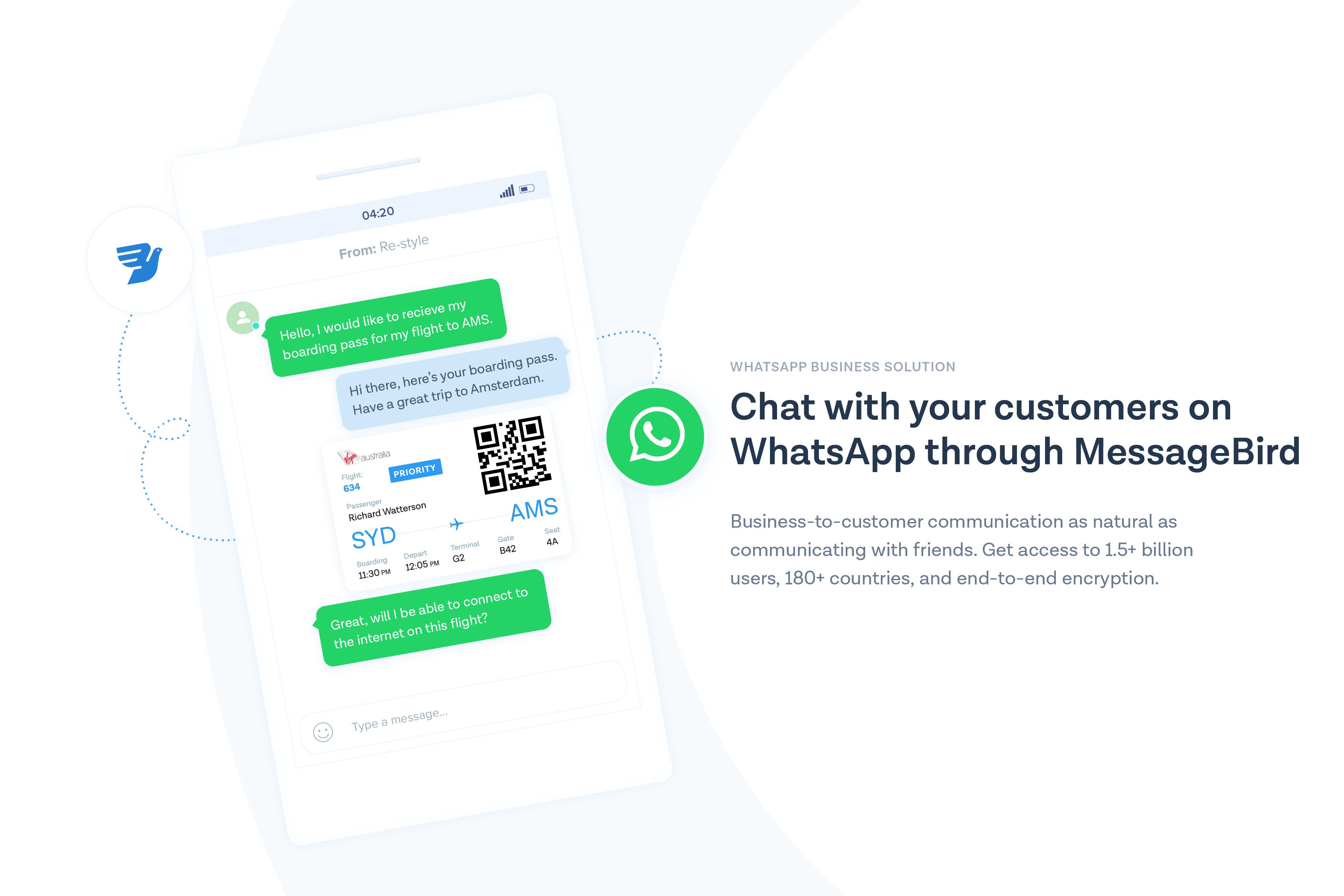 MessageBird Demo - WhatsApp Business Solution with MessageBird