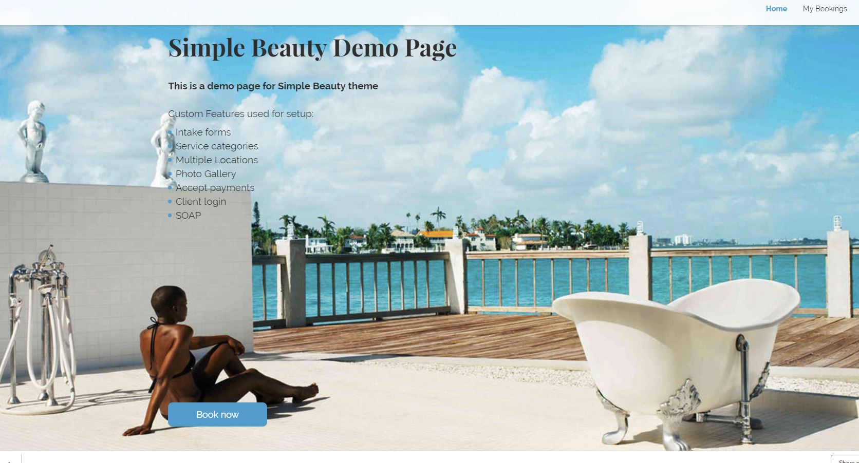 SimplyBook.me Demo - Demo of Beauty Booking Website