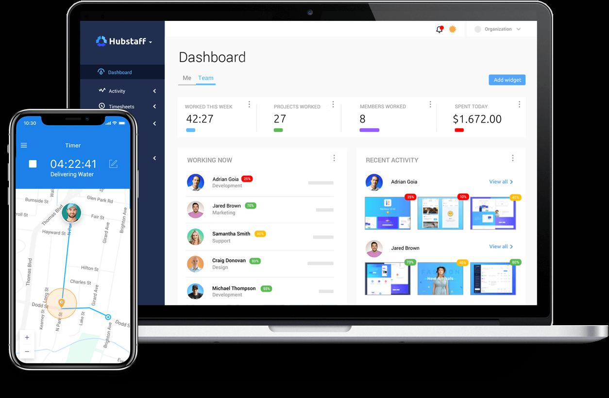 Hubstaff Demo - Hubstaff Dashboard