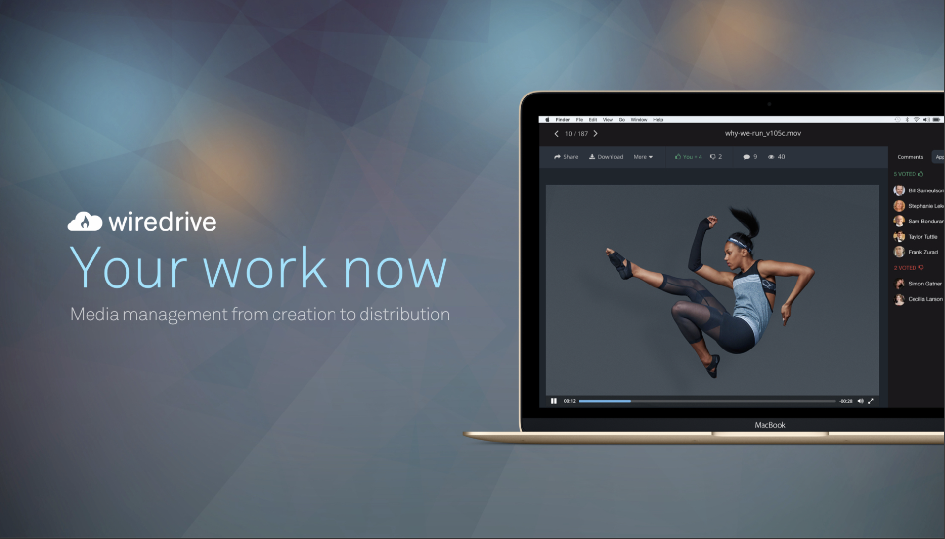 Wiredrive Demo - Media management and collaboration from creation to distribution