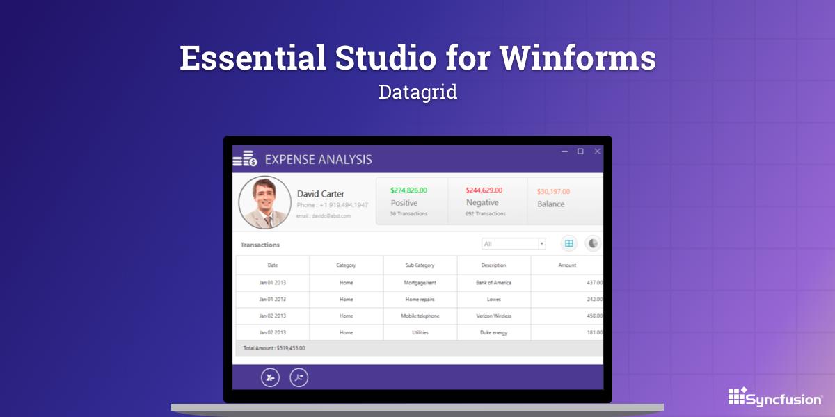 Syncfusion Essential Studio Enterprise Edition Reviews 2019: Details