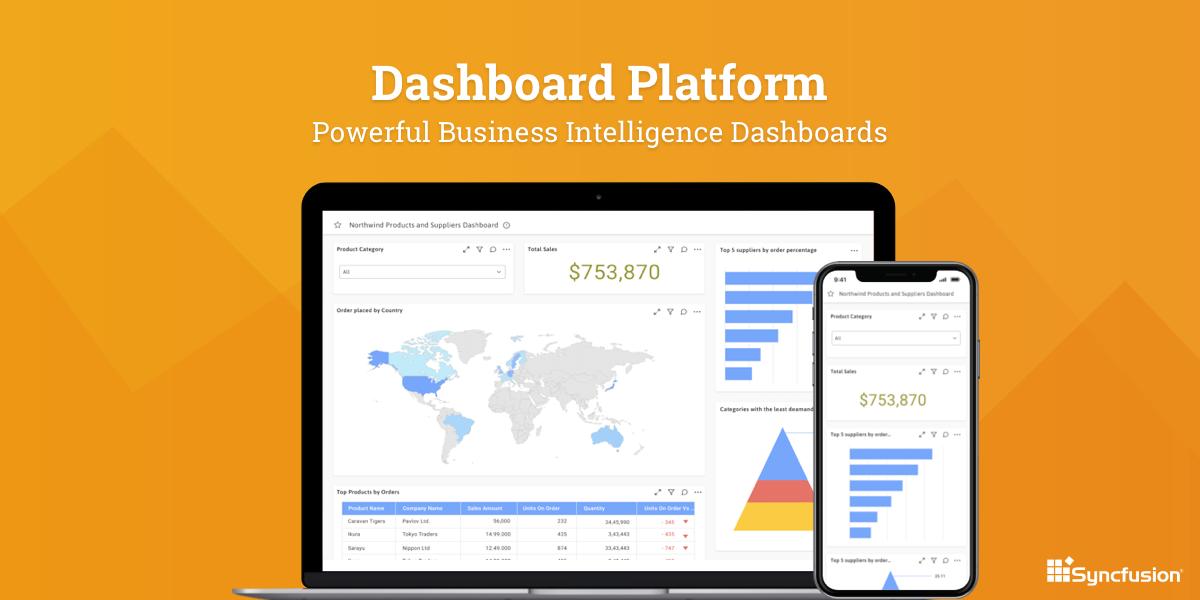 Syncfusion Dashboard Platform Demo - Syncfusion Dashboard Platform