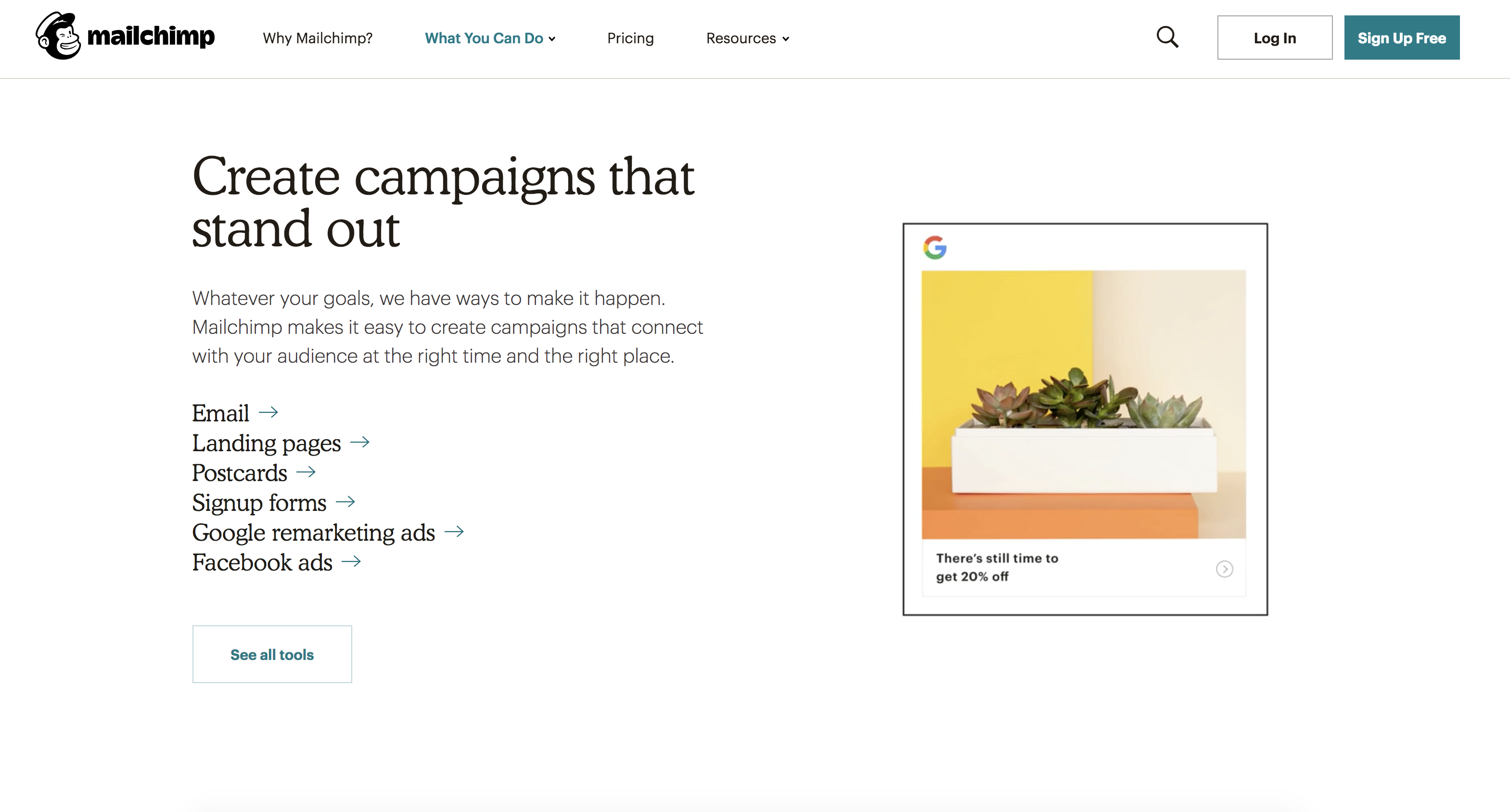 Mailchimp Demo - Connect with your audience across various channels.