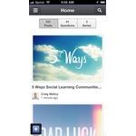 Bloomfire Mobile Apps Screenshot