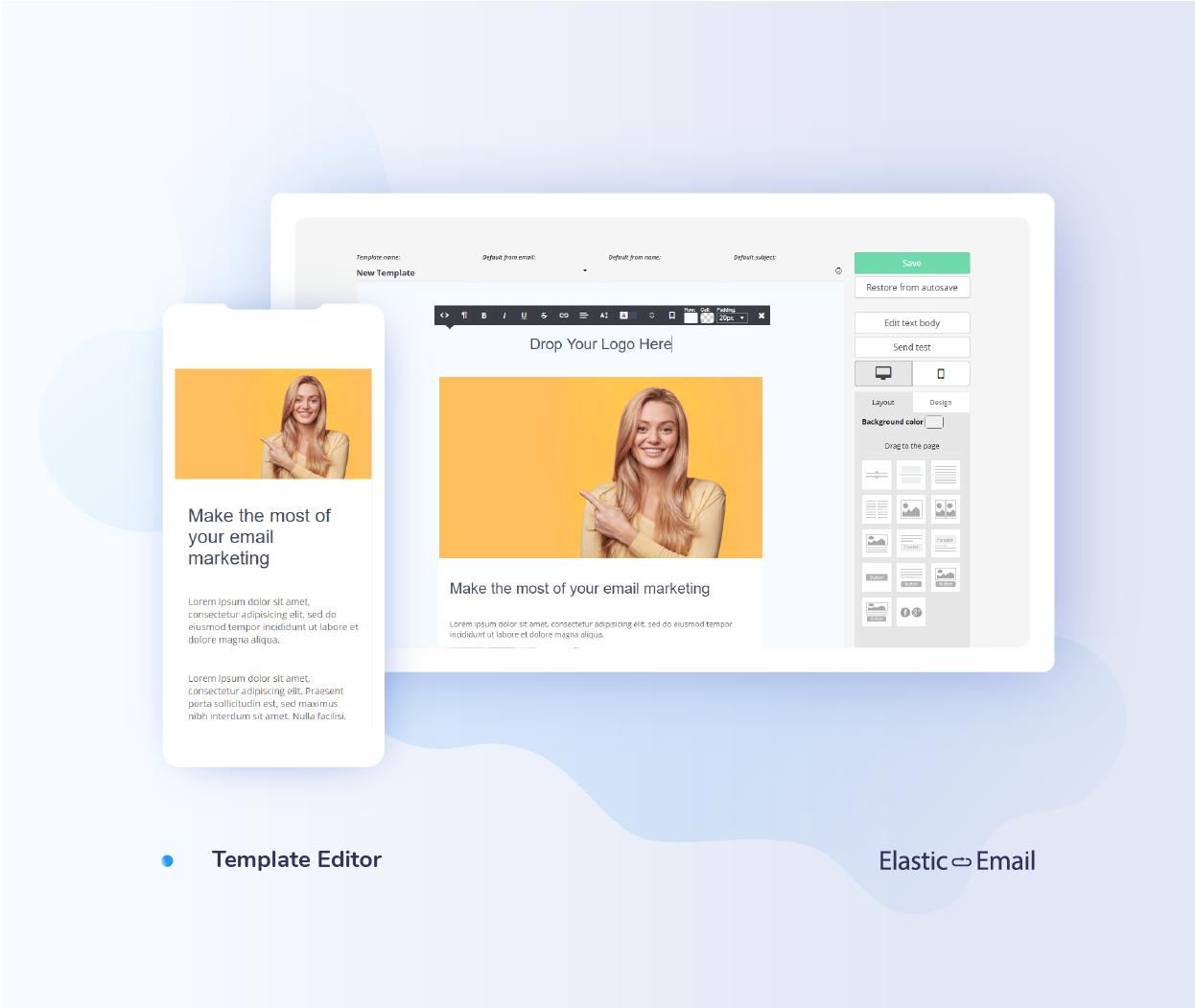 Elastic Email Demo - Make your design ideas come to life