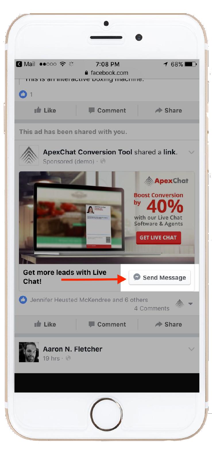 Apex Chat Demo - Messenger CTA