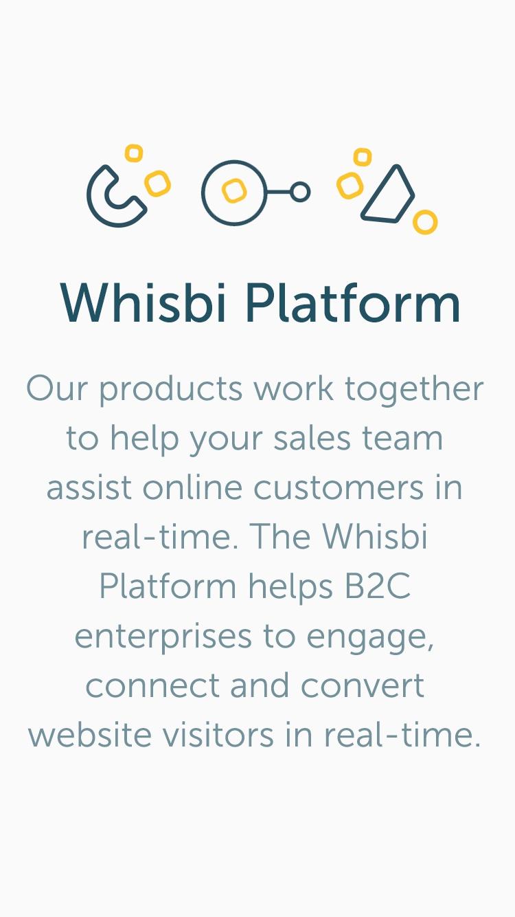 Whisbi Demo - The Whisbi conversational sales & marketing platform