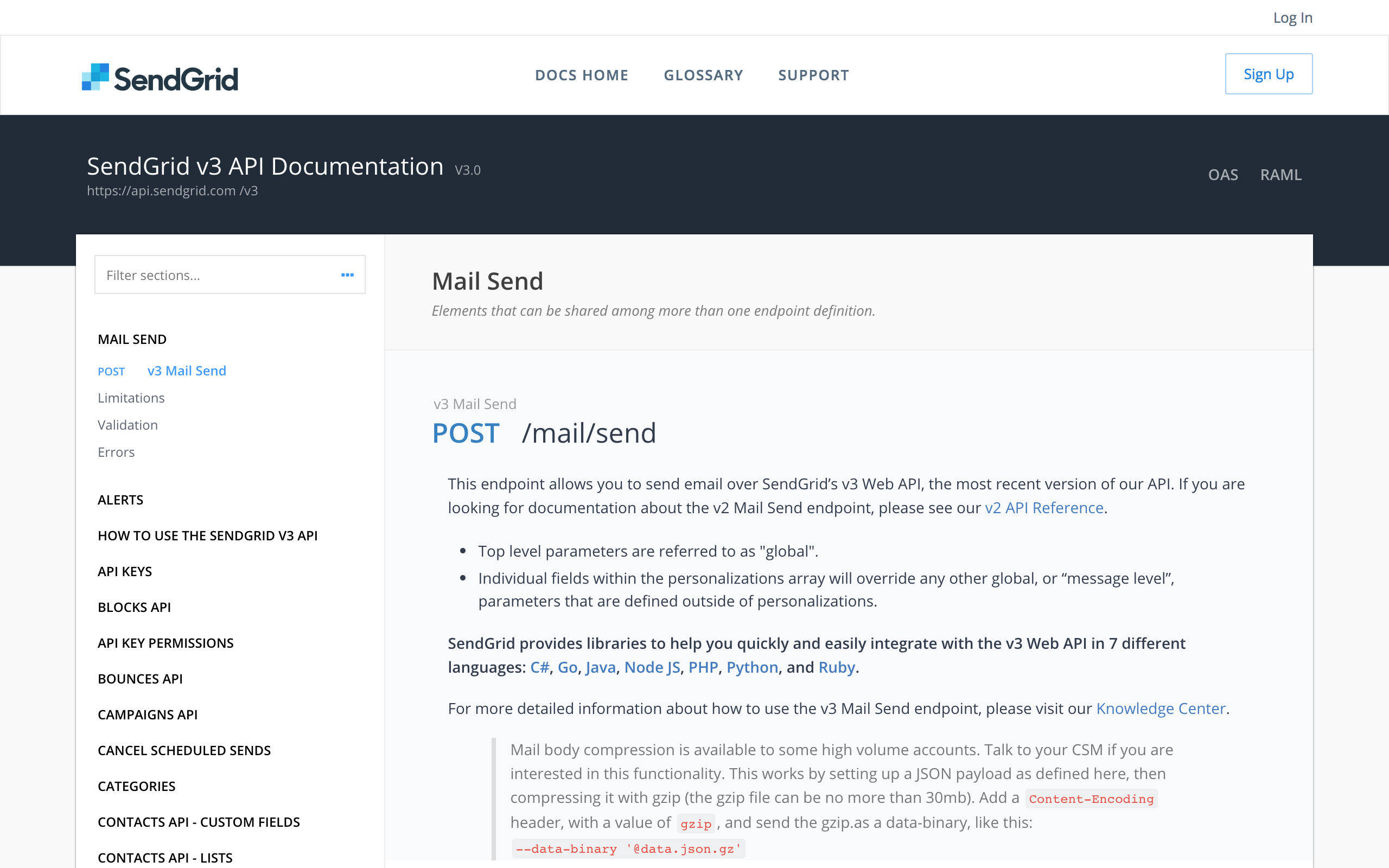 SendGrid Email API Demo - Expedite Your Integration With Robust Documentation