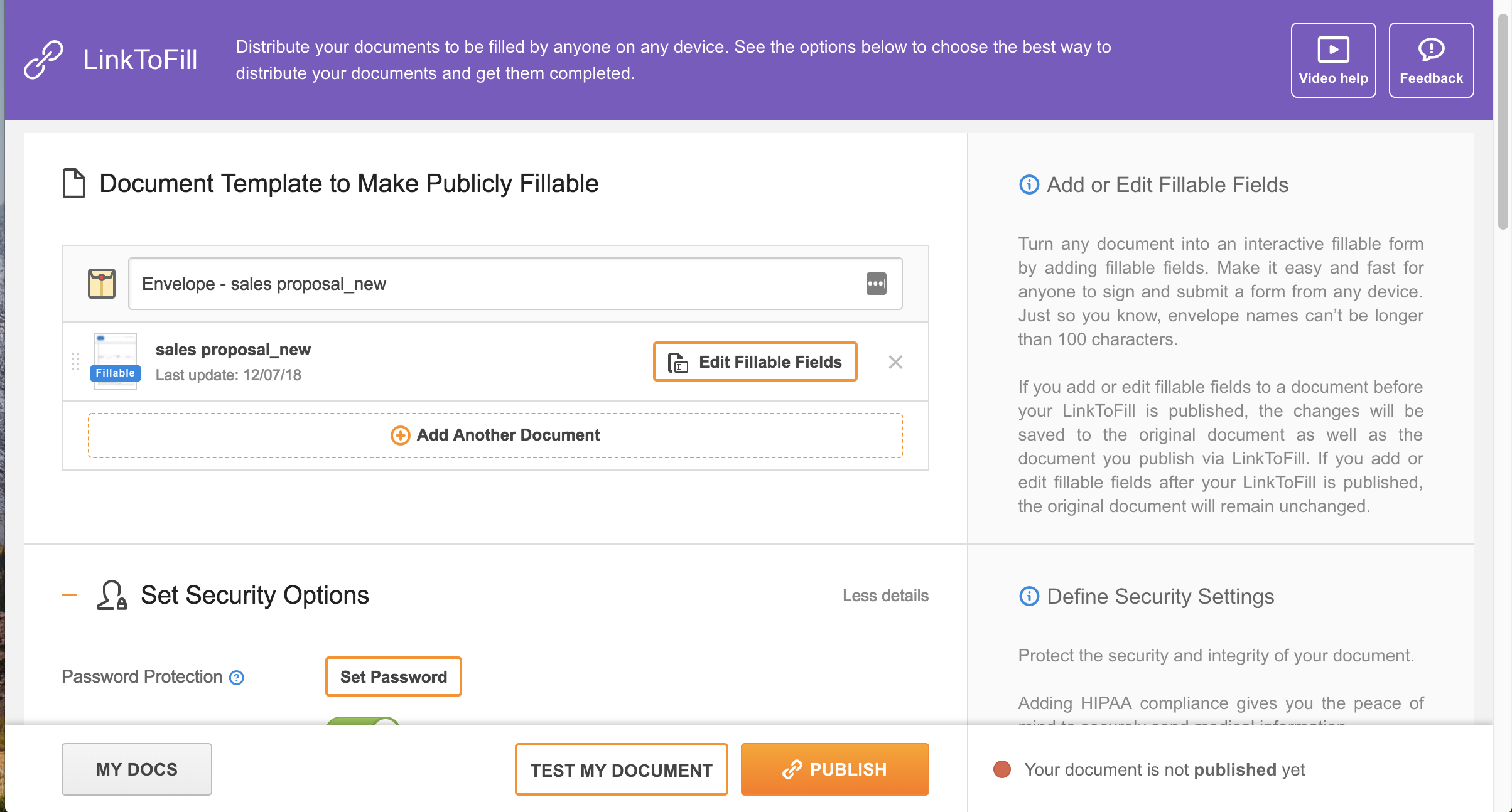 PDFfiller Demo - Create online fillable forms in seconds