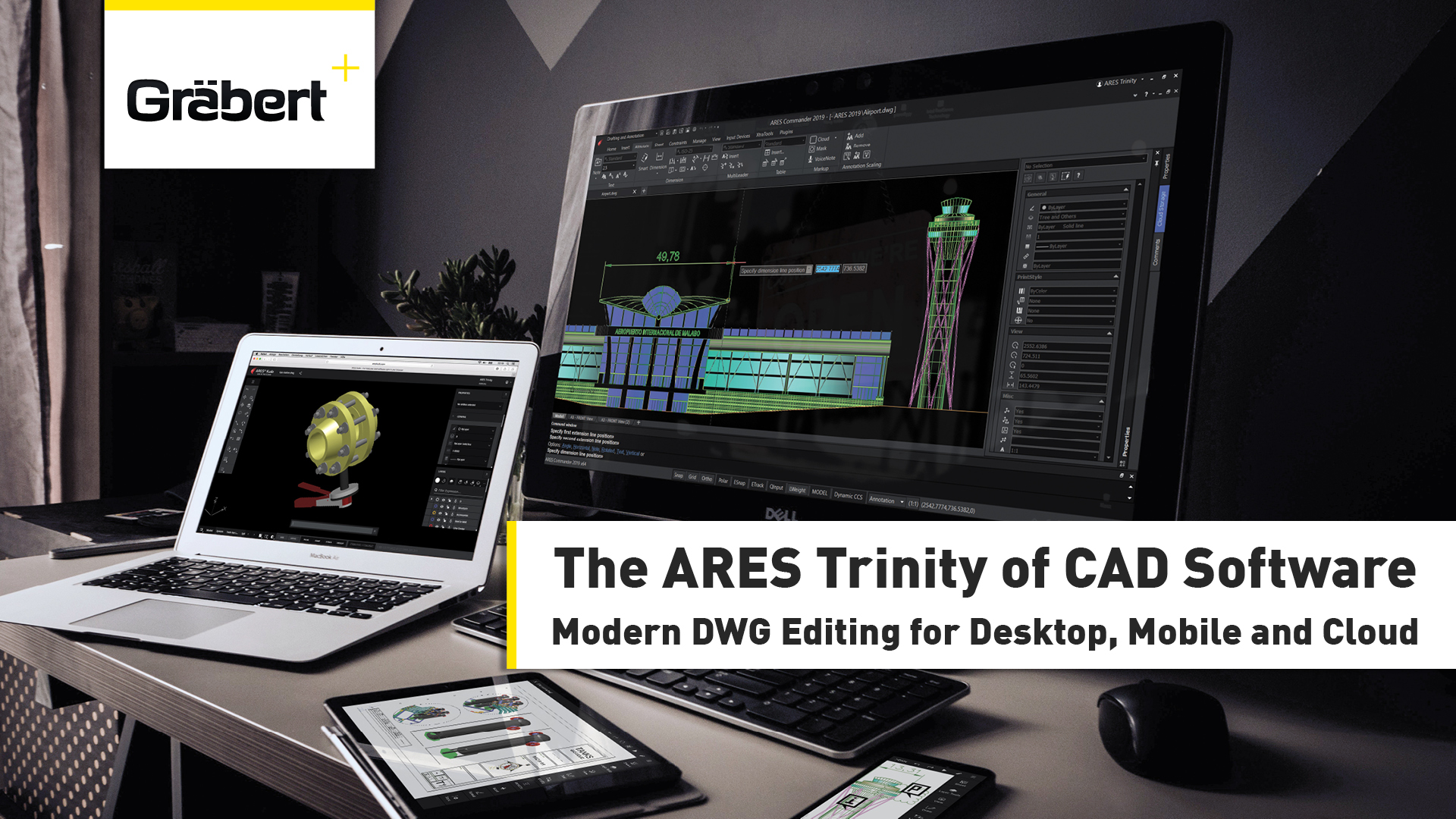 Ares Commander Demo - The ARES Trinity of CAD software