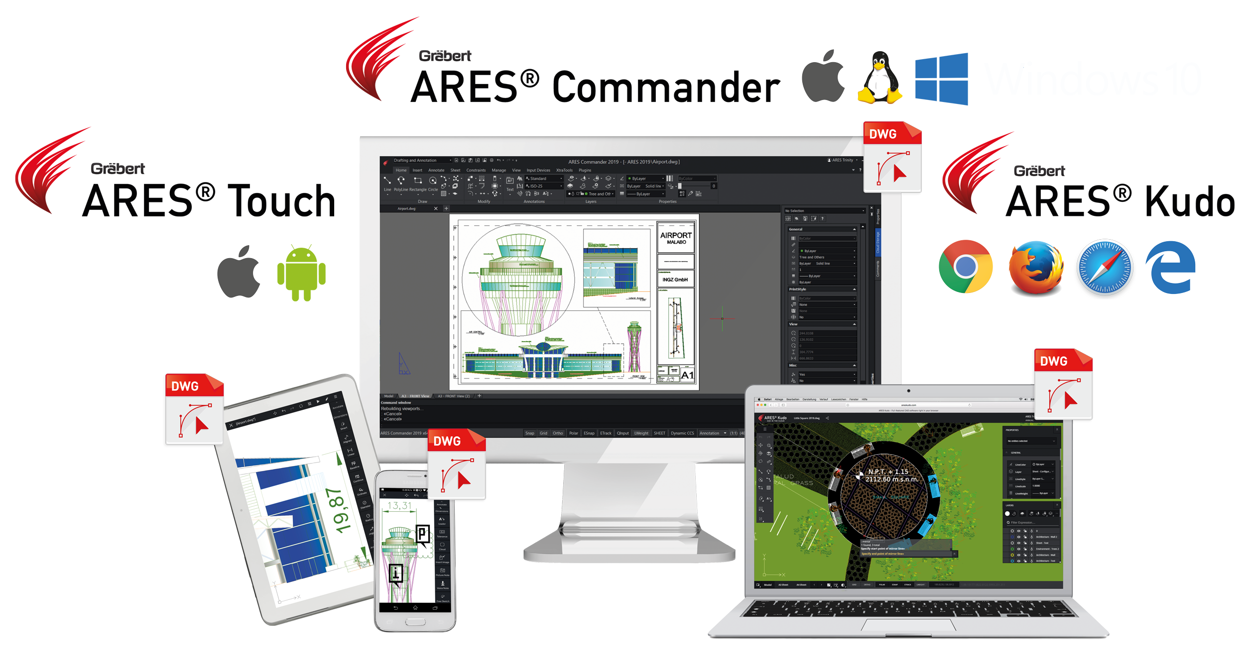 Ares Commander Demo - CAD anywhere on any device