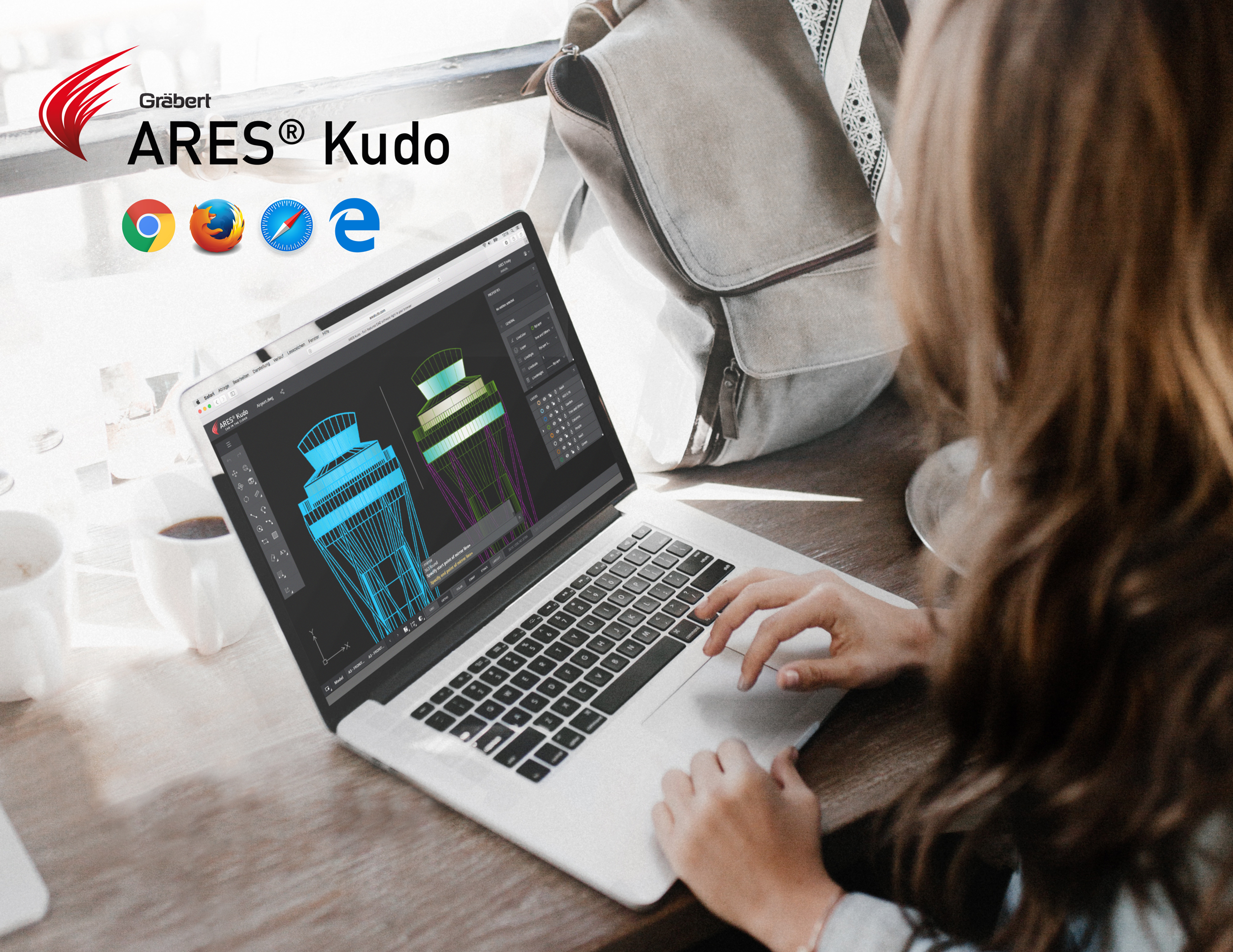 Ares Commander Demo - Online CAD with ARES Kudo