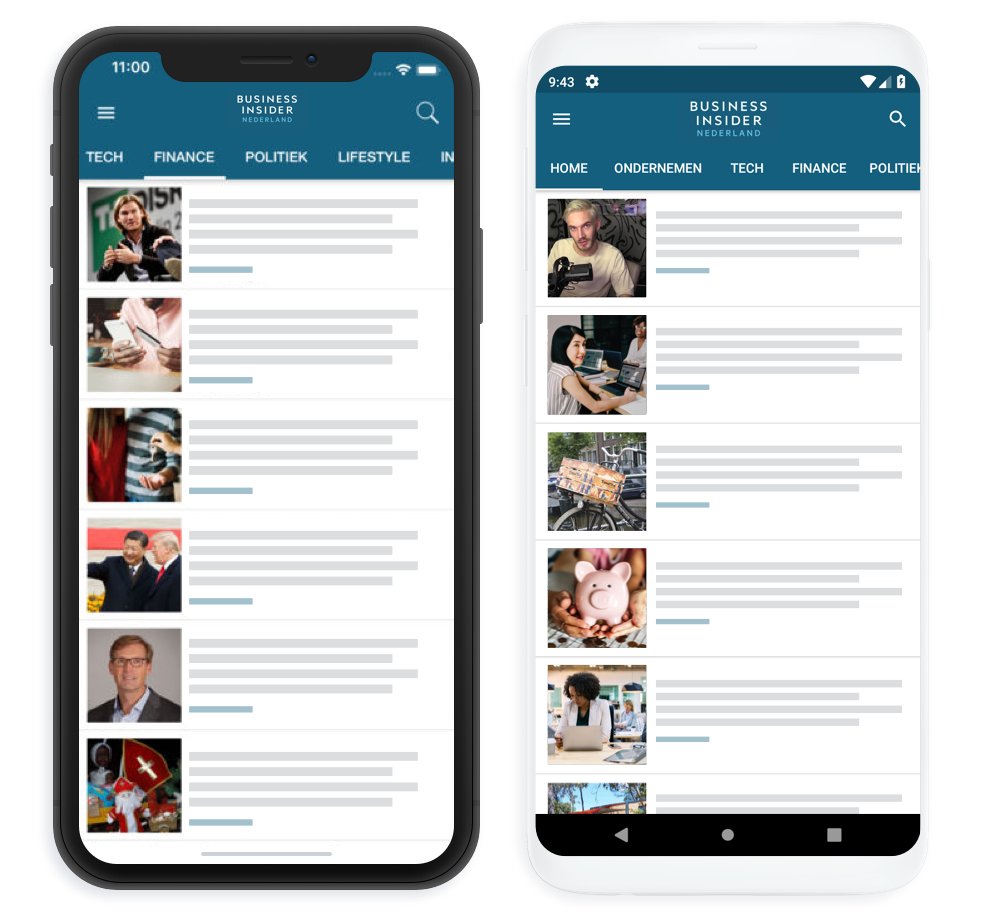 MobiLoud Demo - MobiLoud News Platform