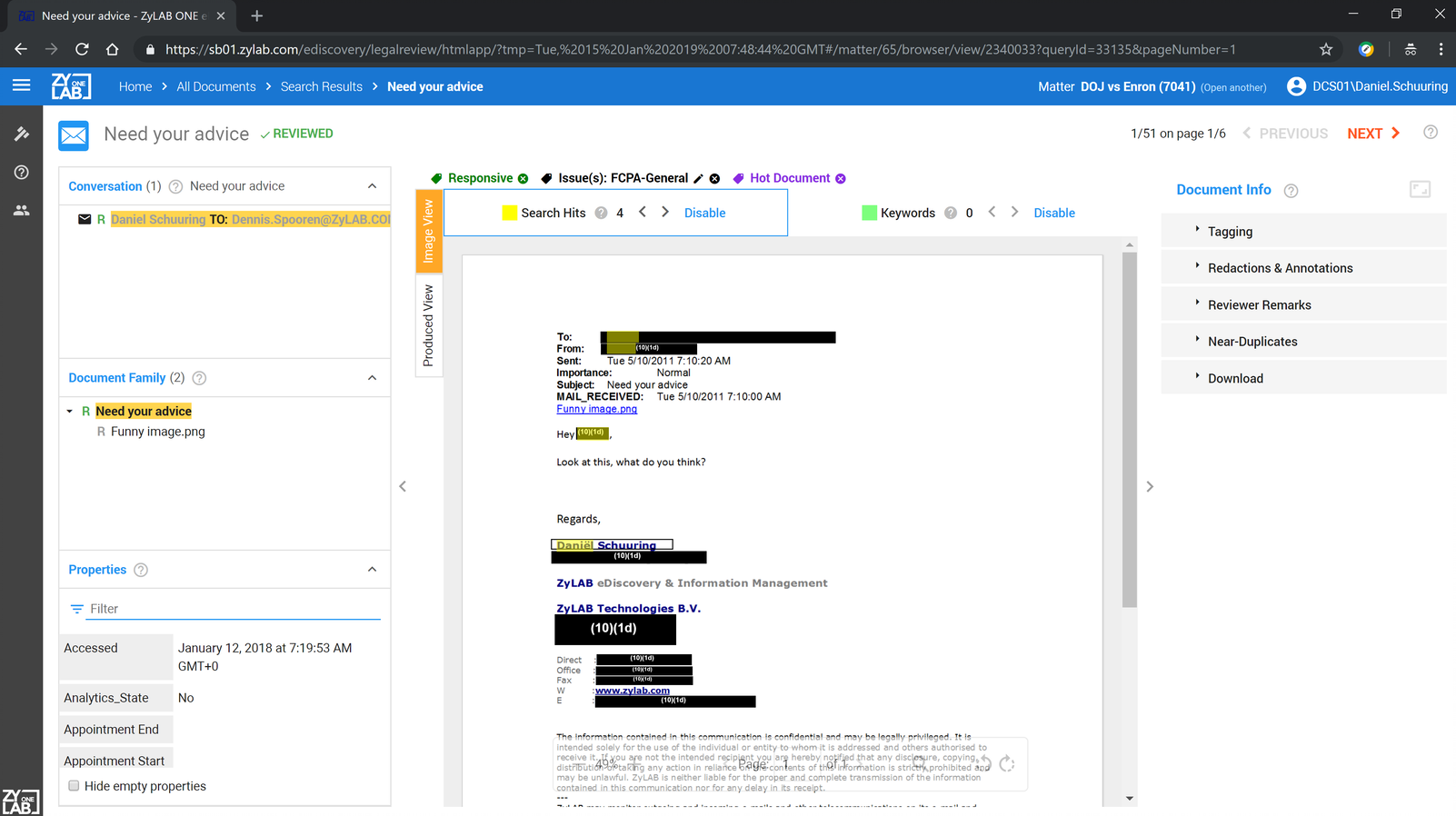 ZyLAB ONE eDiscovery Demo - ZyLAB-Auto-Redaction.png