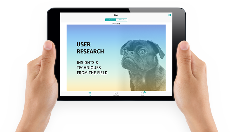 SlideDog Demo - Share a live stream of your presentation at the click of a button