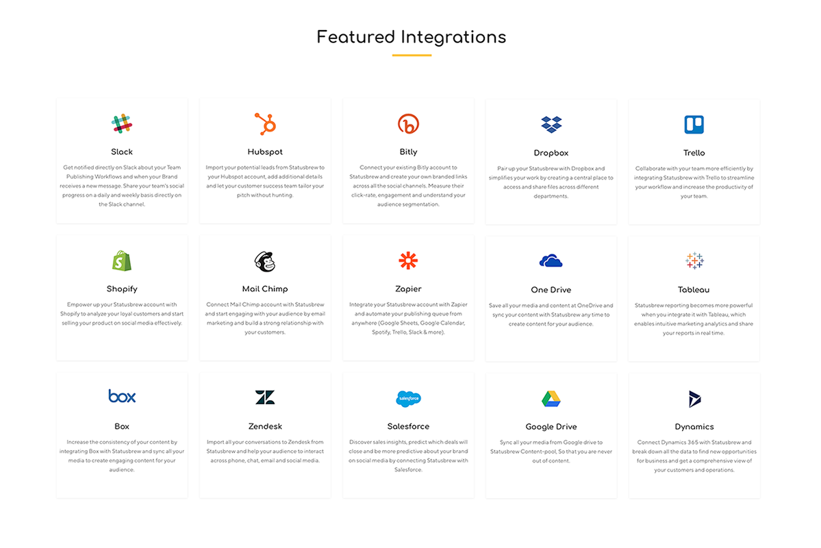 Statusbrew Demo - Featured-Integrations.png