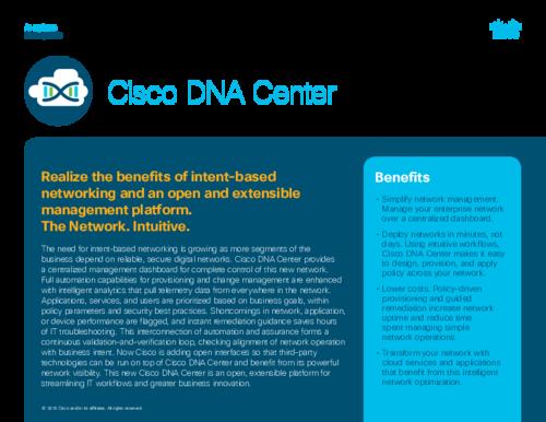 Cisco DNA Center Reviews 2019: Details, Pricing, & Features | G2