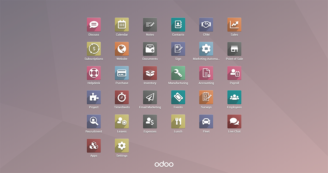 Odoo Demo - Odoo Home