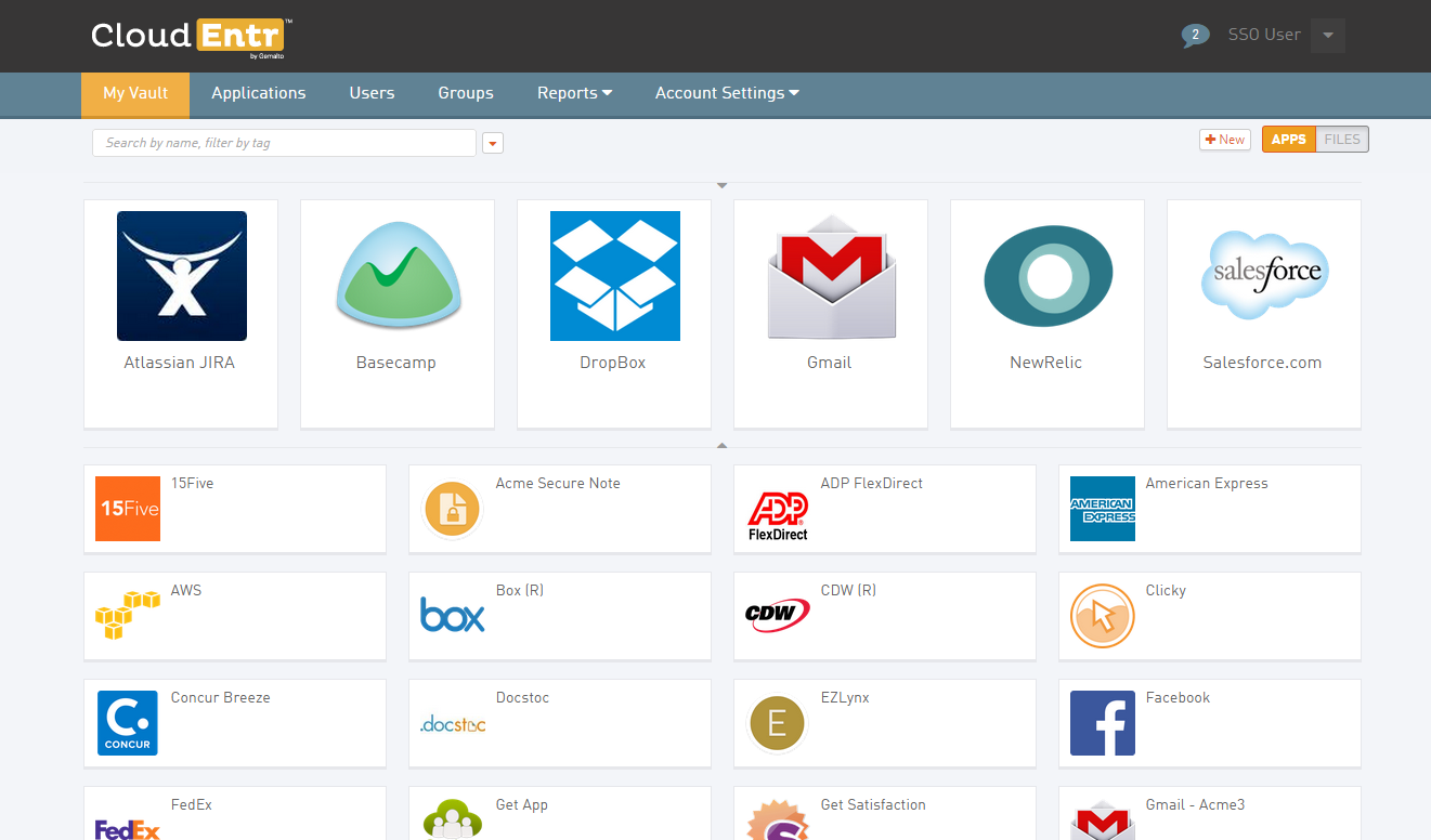 CloudEntr Demo - CloudEntr Vault
