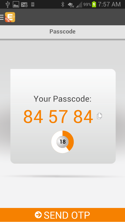 CloudEntr Demo - Two-factor Authentication