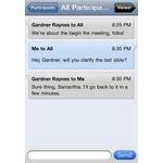 IBM Cloud Mobile Apps Screenshot