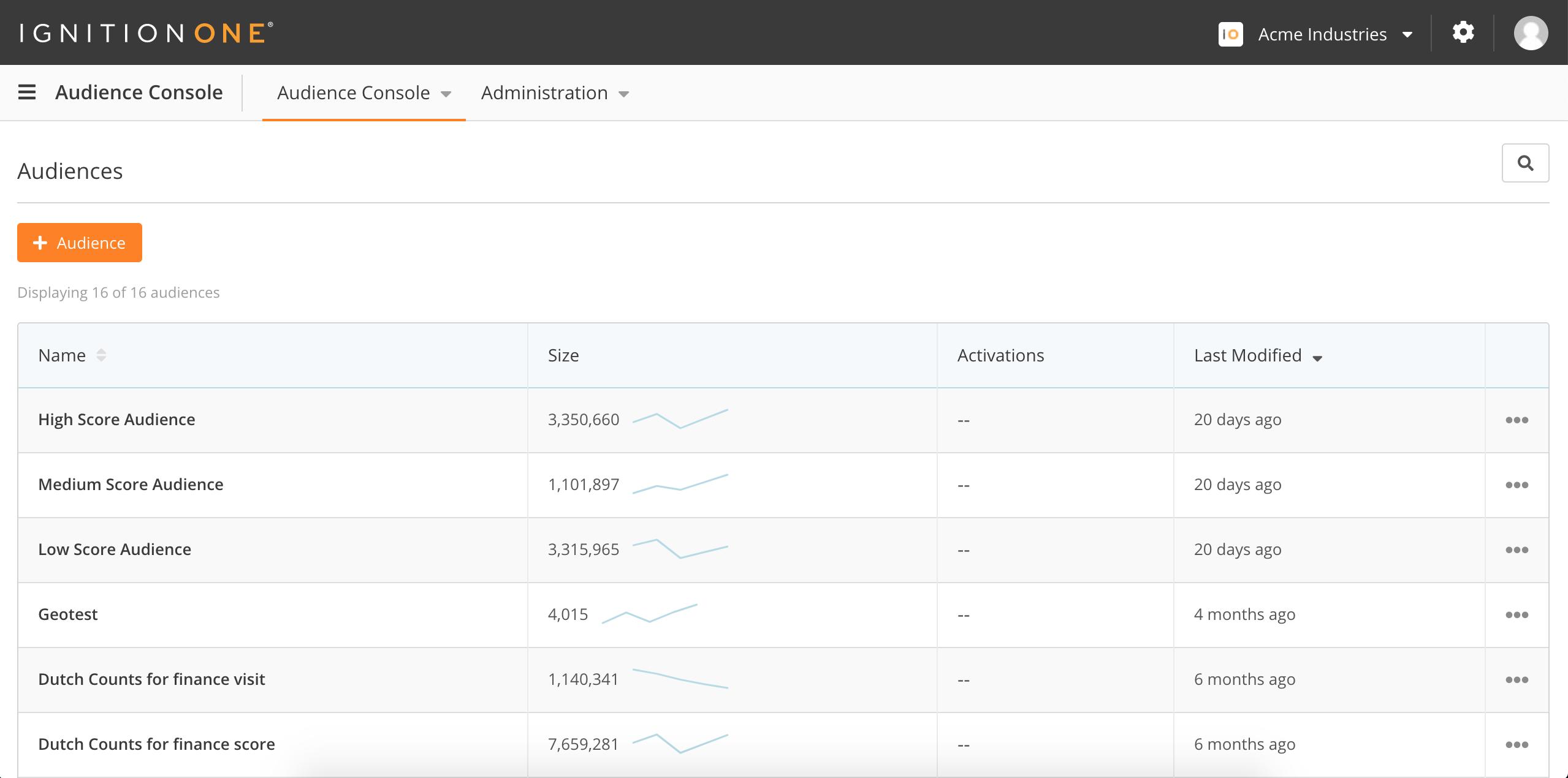 IgnitionOne Customer Intelligence Platform Demo - Audience Management