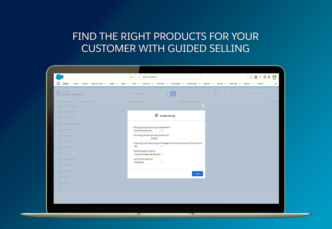 Salesforce CPQ Demo - Guided Selling