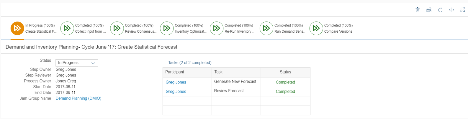 SAP Integrated Business Planning Reviews 2019: Details